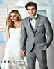 Ike Behar Chelsea Light Grey Tuxedo