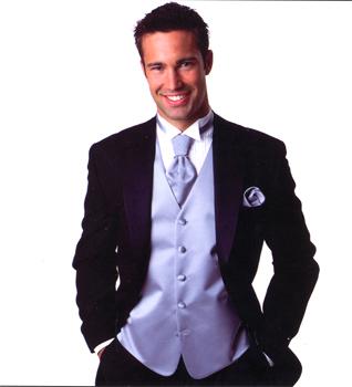 Brandon Michael - 'Satin' Fullback Vest Collection